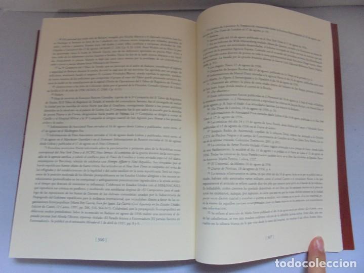 Libros de segunda mano: LA MATANZA DE BADAJOZ ANTE LOS MUROS DE LA PROPAGANDA. FRANCISCO PILO. MOISES DOMINGUEZ. 2010 - Foto 16 - 221958478