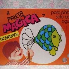 Libros de segunda mano: PALETA MAGICA N.º7. PARA PINTAR SÓLO CON AGUA. EDITORIAL ROMA.. Lote 221984800