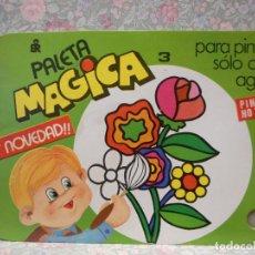 Libros de segunda mano: PALETA MAGICA N.3 . PARA PINTAR SÓLO CON AGUA. EDITORIAL ROMA.. Lote 221984878