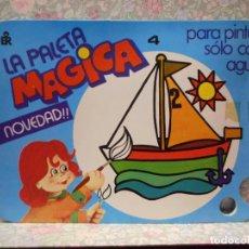 Libros de segunda mano: PALETA MAGICA N.4 . PARA PINTAR SÓLO CON AGUA. EDITORIAL ROMA.. Lote 221984896