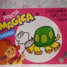Libros de segunda mano: PALETA MAGICA N.8 . PARA PINTAR SÓLO CON AGUA. EDITORIAL ROMA.. Lote 221984942
