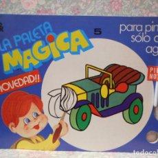 Libros de segunda mano: PALETA MAGICA Nº5. PARA PINTAR SÓLO CON AGUA. EDITORIAL ROMA.. Lote 221985127