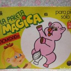 Libros de segunda mano: PALETA MAGICA Nº6. PARA PINTAR SÓLO CON AGUA. EDITORIAL ROMA.. Lote 221985158