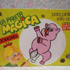 Libros de segunda mano: PALETA MAGICA Nº6. PARA PINTAR SÓLO CON AGUA. EDITORIAL ROMA.. Lote 221985163