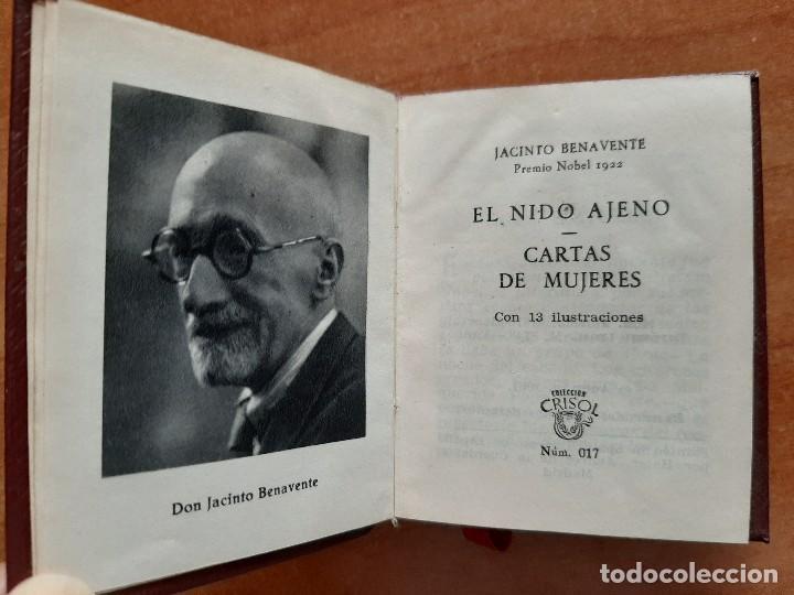 Libros de segunda mano: 1961 EL NIDO AJENO - BENAVENTE / CRISOLÍN Nº 17 - Foto 2 - 221993892