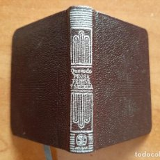 Libros de segunda mano: 1979 PROSA FESTIVA Y SATÍRICA - QUEVEDO / CRISOLÍN Nº 42. Lote 221995812