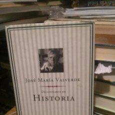 Libros de segunda mano: DICCIONARIO DE HISTORIA, JOSE MARIA VALVERDE, ED. PLANETA. Lote 222022956