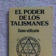 Libri di seconda mano: EL PODER DE LOS TALISMANES / KLAUS BERGMAN.. Lote 222026366