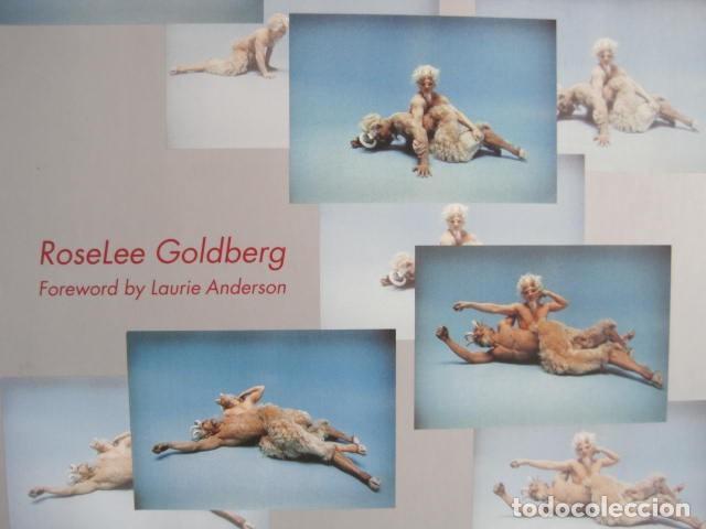 Libros de segunda mano: PERFORMANCE LIVE ART SINCE THE 60s. SIGNED BY THE AUTHOR.ROSELEE GOLDBERG. ARTE EN VIVO DESDE LOS 60 - Foto 2 - 222028013