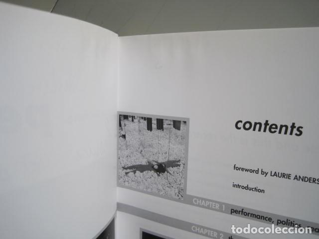 Libros de segunda mano: PERFORMANCE LIVE ART SINCE THE 60s. SIGNED BY THE AUTHOR.ROSELEE GOLDBERG. ARTE EN VIVO DESDE LOS 60 - Foto 12 - 222028013