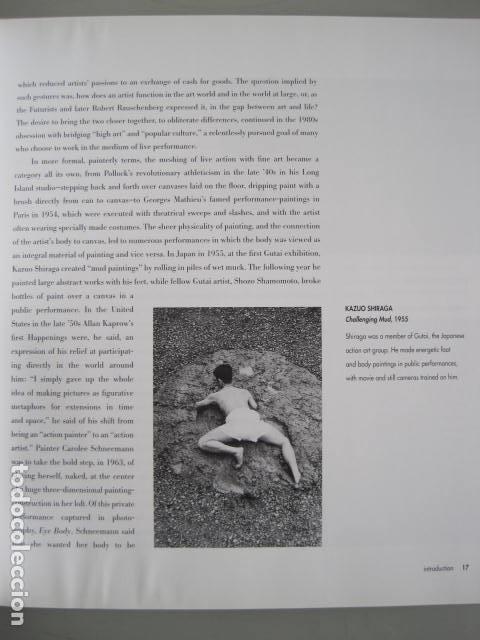 Libros de segunda mano: PERFORMANCE LIVE ART SINCE THE 60s. SIGNED BY THE AUTHOR.ROSELEE GOLDBERG. ARTE EN VIVO DESDE LOS 60 - Foto 15 - 222028013