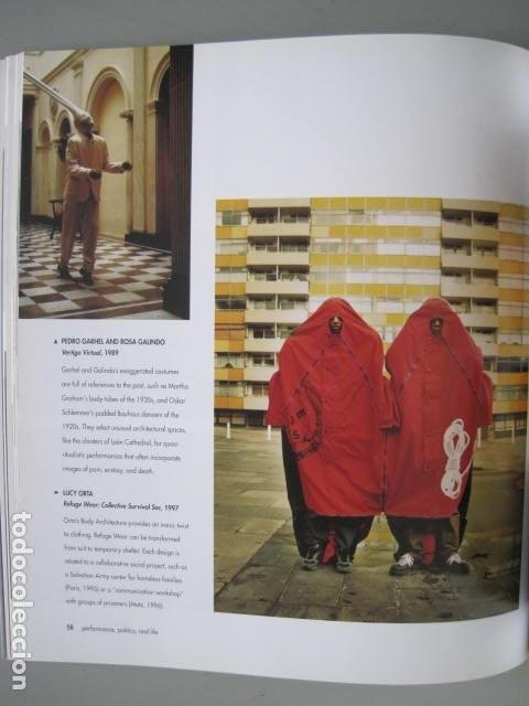 Libros de segunda mano: PERFORMANCE LIVE ART SINCE THE 60s. SIGNED BY THE AUTHOR.ROSELEE GOLDBERG. ARTE EN VIVO DESDE LOS 60 - Foto 18 - 222028013