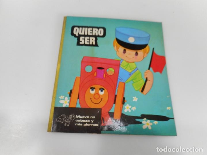 QUIERO SER (MAQUINISTA DE TREN) Q3310T (Libros de Segunda Mano - Literatura Infantil y Juvenil - Otros)