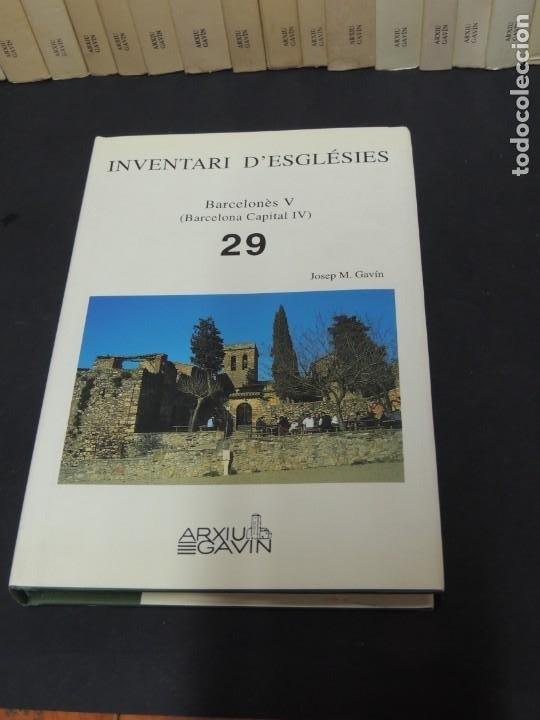 Libros de segunda mano: INVENTARI DESGLÉSIES.-ARXIU GAVIN.-(30 VOL. OBRA COMPLETA) - Foto 3 - 222048962