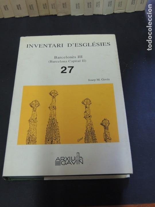 Libros de segunda mano: INVENTARI DESGLÉSIES.-ARXIU GAVIN.-(30 VOL. OBRA COMPLETA) - Foto 5 - 222048962