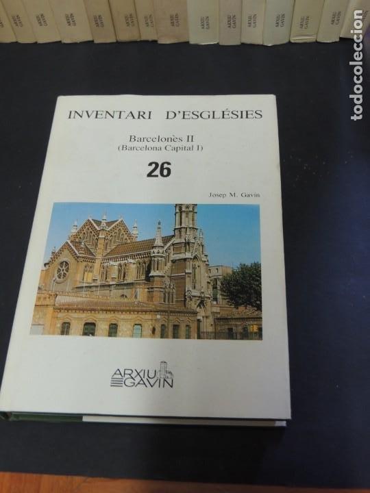 Libros de segunda mano: INVENTARI DESGLÉSIES.-ARXIU GAVIN.-(30 VOL. OBRA COMPLETA) - Foto 6 - 222048962