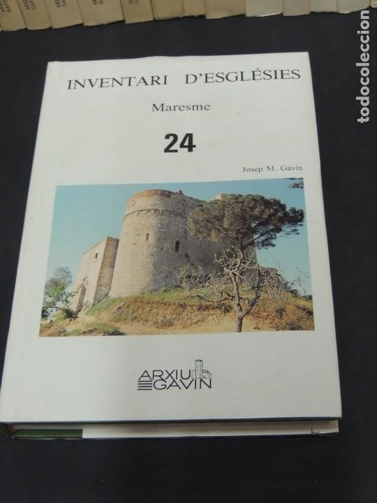 Libros de segunda mano: INVENTARI DESGLÉSIES.-ARXIU GAVIN.-(30 VOL. OBRA COMPLETA) - Foto 8 - 222048962