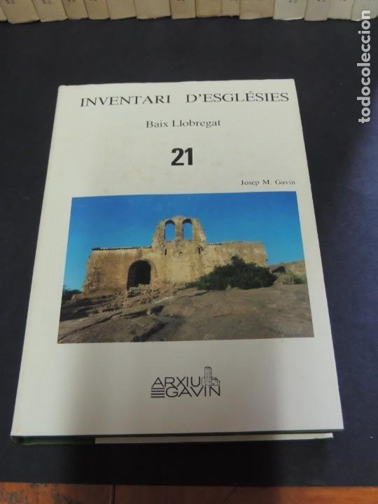 Libros de segunda mano: INVENTARI DESGLÉSIES.-ARXIU GAVIN.-(30 VOL. OBRA COMPLETA) - Foto 11 - 222048962