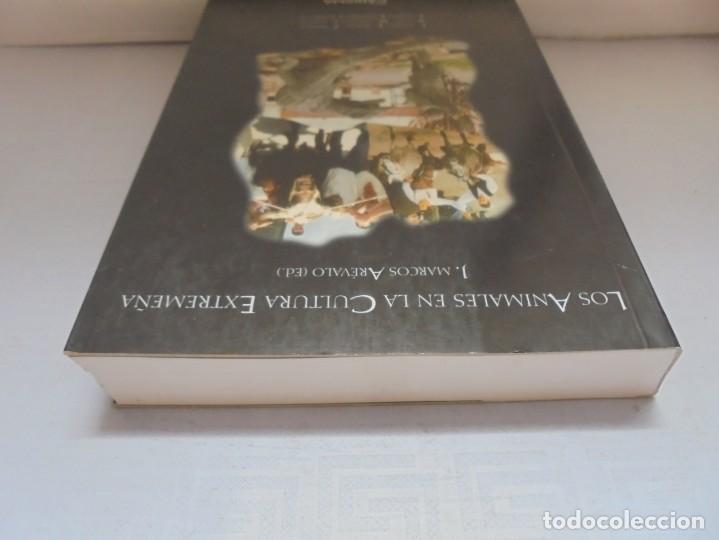 Libros de segunda mano: LOS ANIMALES EN LA CULTURA EXTREMEÑA. J.MARCOS AREVALO. EDICIONES CARISMAS. 2002. - Foto 5 - 222055413