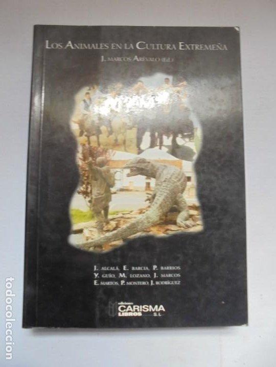 Libros de segunda mano: LOS ANIMALES EN LA CULTURA EXTREMEÑA. J.MARCOS AREVALO. EDICIONES CARISMAS. 2002. - Foto 6 - 222055413