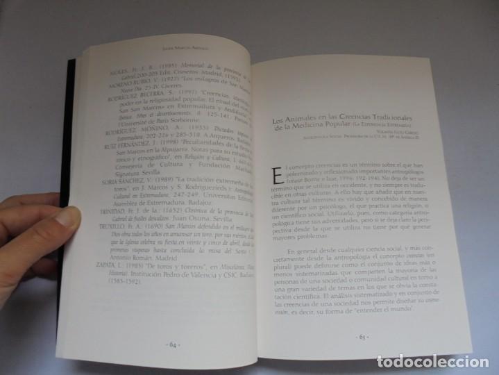Libros de segunda mano: LOS ANIMALES EN LA CULTURA EXTREMEÑA. J.MARCOS AREVALO. EDICIONES CARISMAS. 2002. - Foto 11 - 222055413