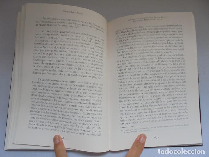 Libros de segunda mano: LOS ANIMALES EN LA CULTURA EXTREMEÑA. J.MARCOS AREVALO. EDICIONES CARISMAS. 2002. - Foto 14 - 222055413