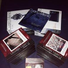 Libros de segunda mano: CUARTO MILENIO 2ª Y 3ª COLECCIÓN TODOS LOS LIBROS CON D.V.D.. Lote 222065102