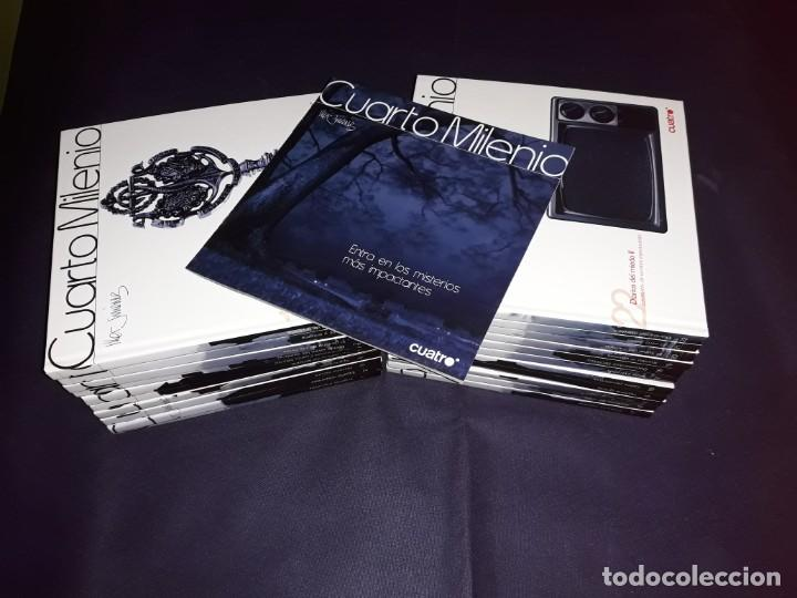 Libros de segunda mano: Cuarto Milenio 2ª y 3ª Colección Todos Los Libros con D.V.D. - Foto 3 - 222065102