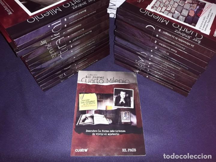 Libros de segunda mano: Cuarto Milenio 2ª y 3ª Colección Todos Los Libros con D.V.D. - Foto 5 - 222065102