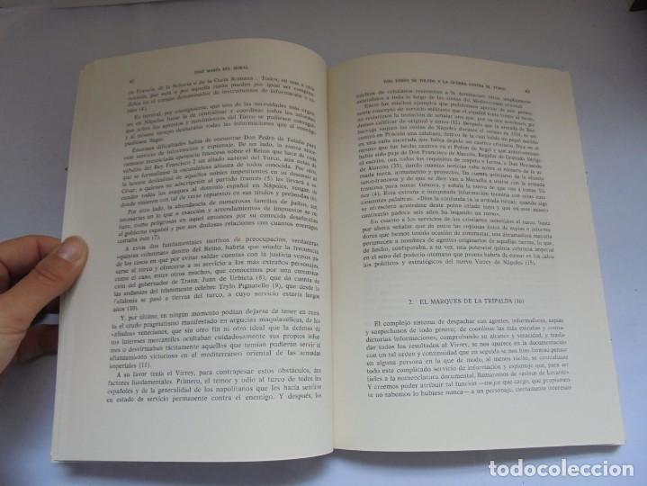 Libros de segunda mano: EL VIRREY DE NAPOLES DON PEDRO DE TOLEDO Y LA GUERRA CONTRA EL TURCO. JOSE MARIA DEL MORAL 1966 - Foto 9 - 222073612