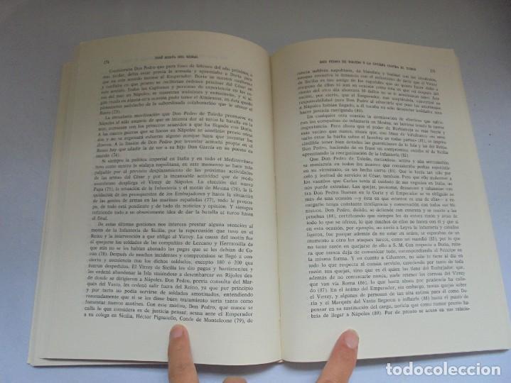 Libros de segunda mano: EL VIRREY DE NAPOLES DON PEDRO DE TOLEDO Y LA GUERRA CONTRA EL TURCO. JOSE MARIA DEL MORAL 1966 - Foto 11 - 222073612