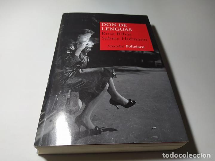 LIBRO - ROSA RIBAS / SABINE HOFMANN - DON DE LENGUAS - SIRUELA POLICIACA (Libros de Segunda Mano (posteriores a 1936) - Literatura - Otros)