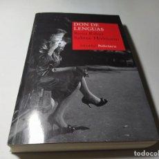 Libros de segunda mano: LIBRO - ROSA RIBAS / SABINE HOFMANN - DON DE LENGUAS - SIRUELA POLICIACA. Lote 222080712