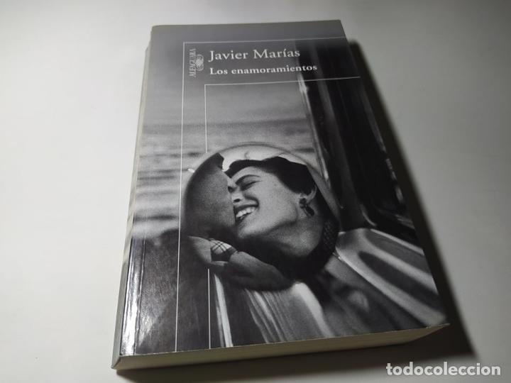 LIBRO - JAVIER MARIAS - LOS ENAMORAMIENTOS - ALFAGUARA (Libros de Segunda Mano (posteriores a 1936) - Literatura - Otros)