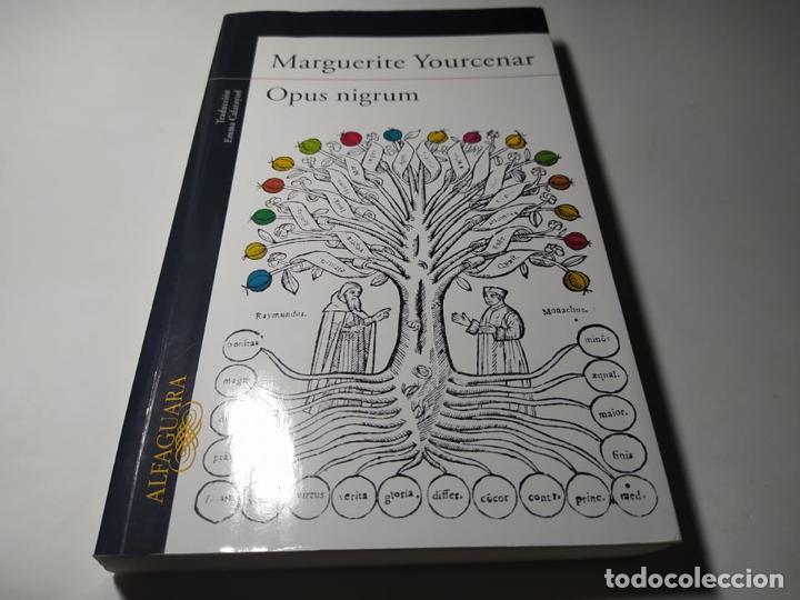 LIBRO - MARGUERITE YOURCENAR - OPUS NIGRUM - ALFAGUARA (Libros de Segunda Mano (posteriores a 1936) - Literatura - Otros)