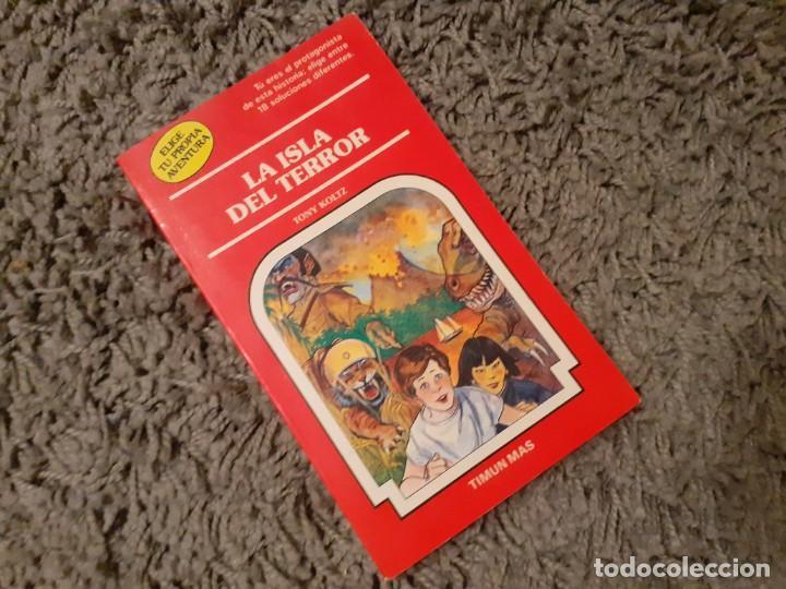 LA ISLA DEL TERROR -ELIGE TU PROPIA AVENTURA TIMUN MAS (Libros de Segunda Mano - Literatura Infantil y Juvenil - Otros)