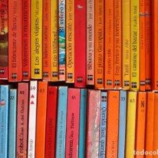 Libros de segunda mano: 45 LIBROS EL BARCO DE VAPOR + 3 MINI LIBROS UN BARCO CARGADO DE CUENTOS. Lote 222084082