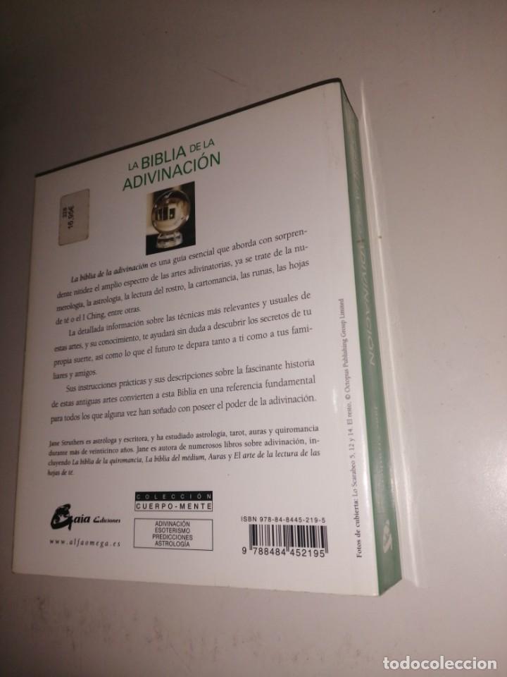Libros de segunda mano: LA BIBLIA DE LA ADIVINACION - JANE STRUTHERS - Foto 2 - 222084921