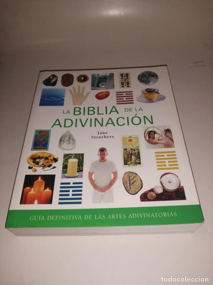 LA BIBLIA DE LA ADIVINACION - JANE STRUTHERS (Libros de Segunda Mano - Parapsicología y Esoterismo - Otros)