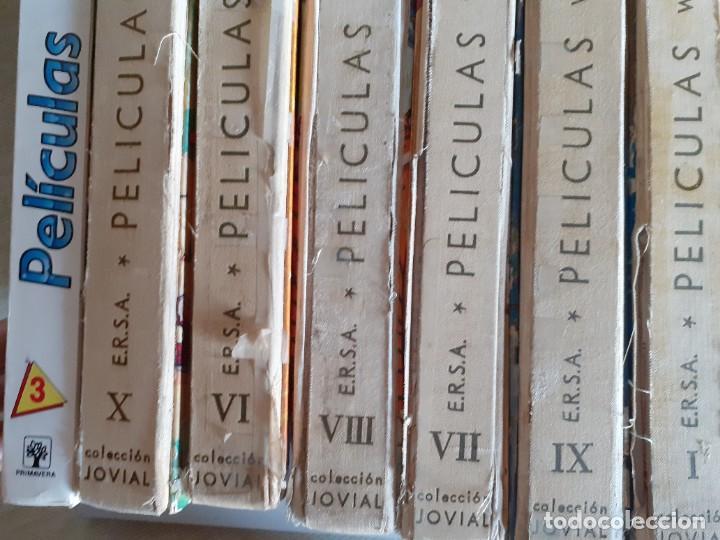 Libros de segunda mano: LOTE 7 TOMOS PELICULAS WALT DISNEY HANNA BARBERA EDICIONES ERSA JOVIAL - Foto 2 - 222086168