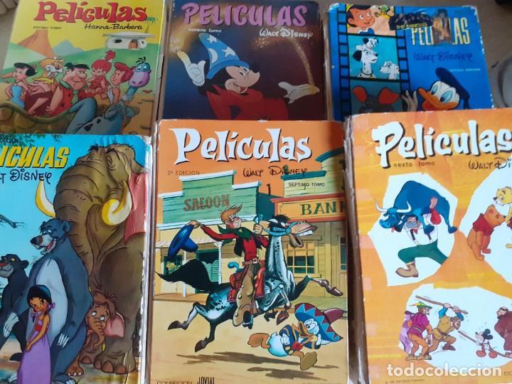 Libros de segunda mano: LOTE 7 TOMOS PELICULAS WALT DISNEY HANNA BARBERA EDICIONES ERSA JOVIAL - Foto 7 - 222086168