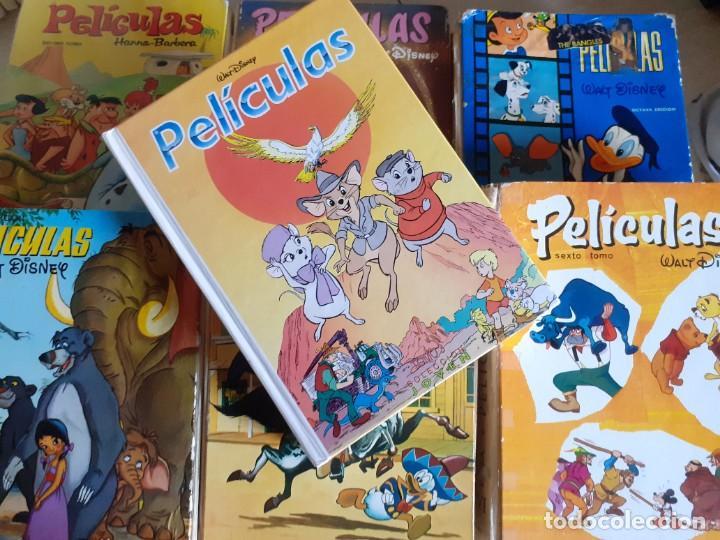 Libros de segunda mano: LOTE 7 TOMOS PELICULAS WALT DISNEY HANNA BARBERA EDICIONES ERSA JOVIAL - Foto 8 - 222086168