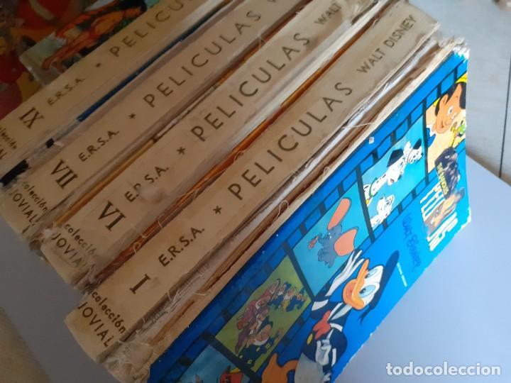 Libros de segunda mano: LOTE 7 TOMOS PELICULAS WALT DISNEY HANNA BARBERA EDICIONES ERSA JOVIAL - Foto 9 - 222086168