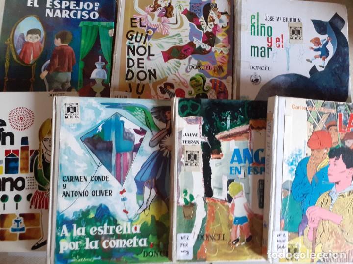 LOTE 7 TOMOS CUENTOS EDITORIAL DONCEL - BALLENA BLANCA, JULITO, NARCISO Y MAS (Libros de Segunda Mano - Literatura Infantil y Juvenil - Otros)
