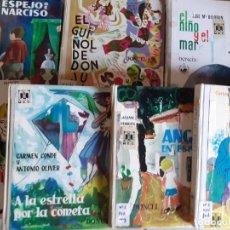 Libros de segunda mano: LOTE 7 TOMOS CUENTOS EDITORIAL DONCEL - BALLENA BLANCA, JULITO, NARCISO Y MAS. Lote 222086545