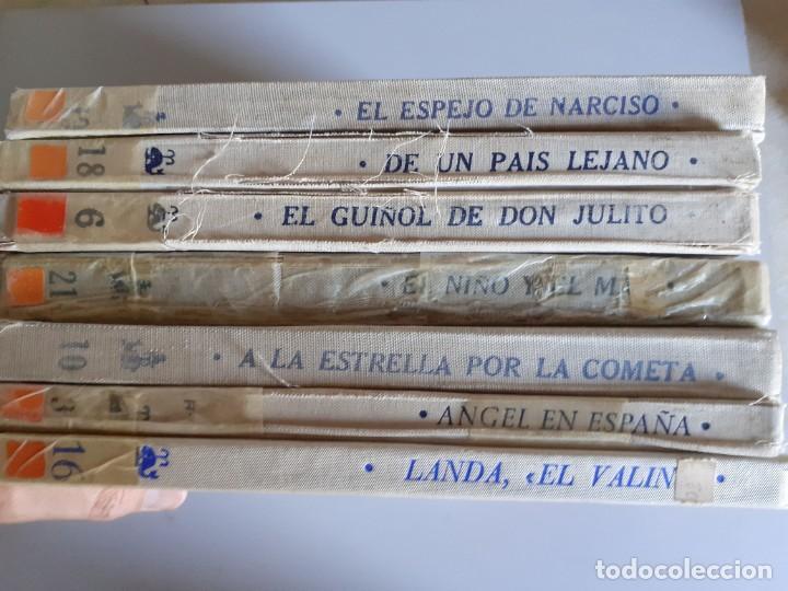 Libros de segunda mano: LOTE 7 TOMOS CUENTOS EDITORIAL DONCEL - BALLENA BLANCA, JULITO, NARCISO Y MAS - Foto 2 - 222086545