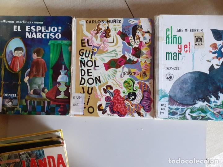 Libros de segunda mano: LOTE 7 TOMOS CUENTOS EDITORIAL DONCEL - BALLENA BLANCA, JULITO, NARCISO Y MAS - Foto 5 - 222086545
