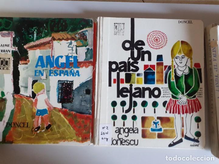 Libros de segunda mano: LOTE 7 TOMOS CUENTOS EDITORIAL DONCEL - BALLENA BLANCA, JULITO, NARCISO Y MAS - Foto 8 - 222086545