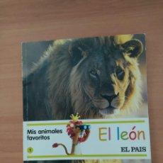 Libros de segunda mano: MIS ANIMALES FAVORITOS EL LEÓN. Lote 222092010