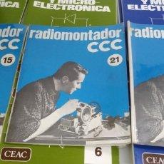 Libri di seconda mano: 30 LIBROS / MANUALES , 3 RADIOMONTADOR / 18 CURSO ELECTRONICA Y MICROELECTRÓNICA + 9 ELECTRÓNICA Y M. Lote 222161926